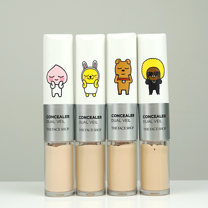 The Face Shop Concealer Dual Veil Kakao Friends Edition review