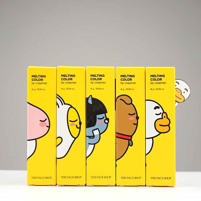 The Face Shop Melting Color Lip Creamer Kakao Friends Edition review