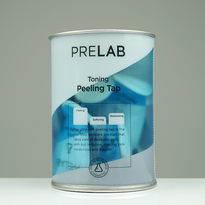 PRELAB Toning Peeling Tab review