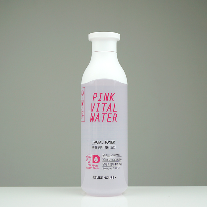 ETUDE HOUSE Pink Vital Water Skin review