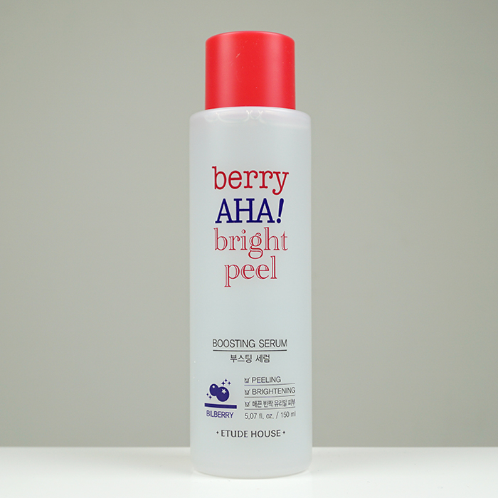 ETUDE HOUSE Berry AHA Bright Peel Boosting Serum review