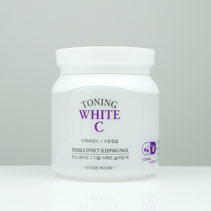 ETUDE HOUSE Toning White C Double Effect Sleeping Pack review