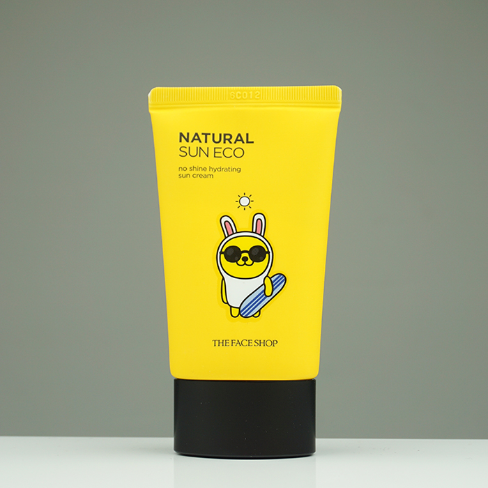 The Face Shop Natural Sun Eco No Shine Hydrating Sun Cream Kakao Friends Edition review