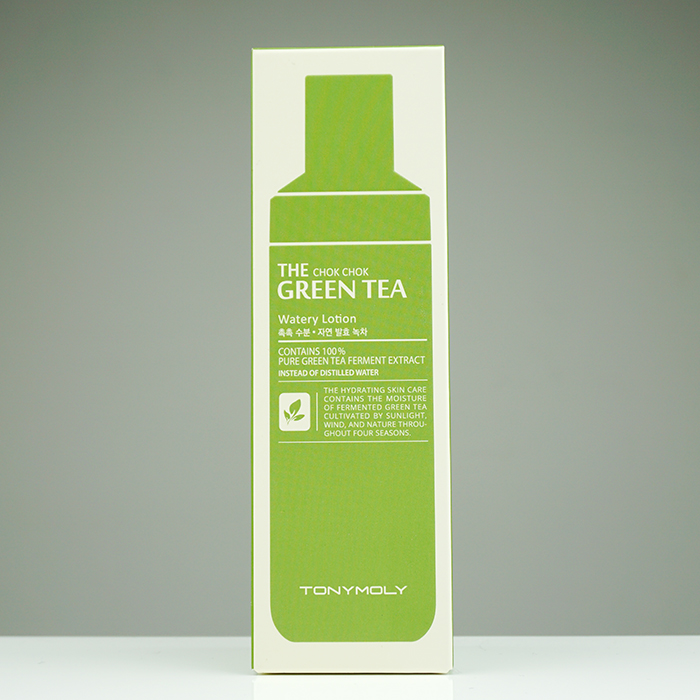 TONYMOLY The Chok Chok Green Tea Watery Lotion review
