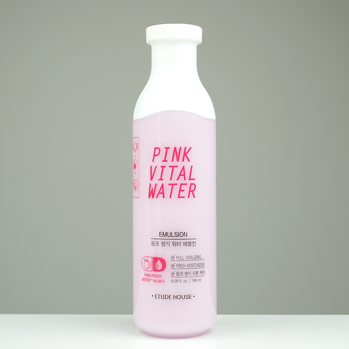 ETUDE HOUSE Pink Vital Water Emulsion review