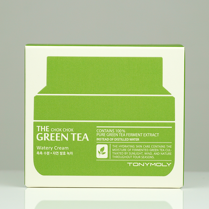 TONYMOLY The Chok Chok Green Tea Watery Cream review