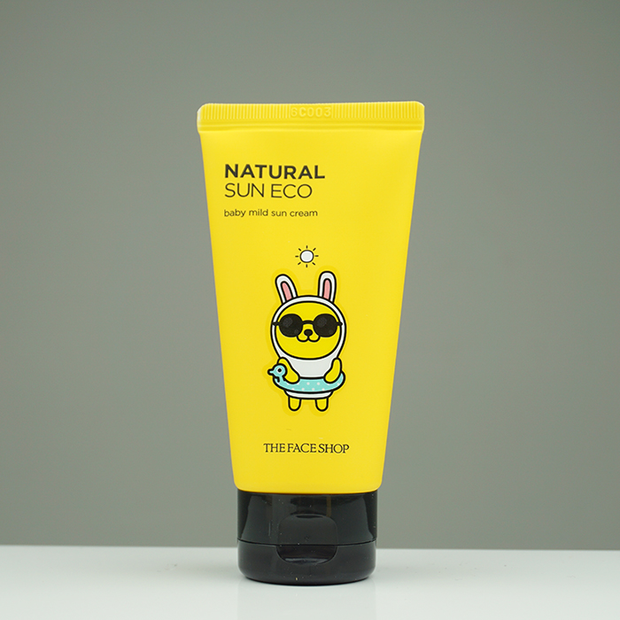 The Face Shop Natural Sun Eco Baby Mild Sun review