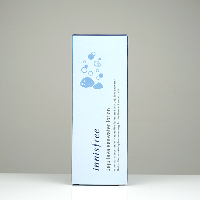 Innisfree Jeju Lava Seawater Lotion review