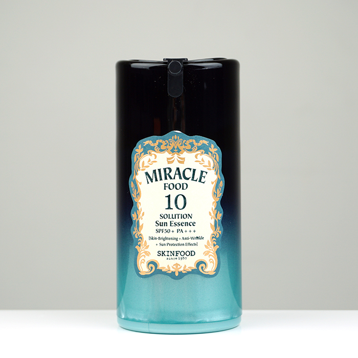 SKINFOOD Miracle Food 10 Solution Sun Essence review
