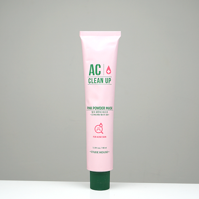 ETUDE HOUSE AC Clean Up Pink Powder Mask review