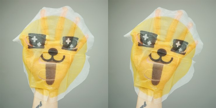 The Face Shop Character Mask Kakao Friends review