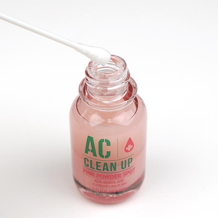 ETUDE HOUSE AC Clean Up Pink Powder Spot Set review