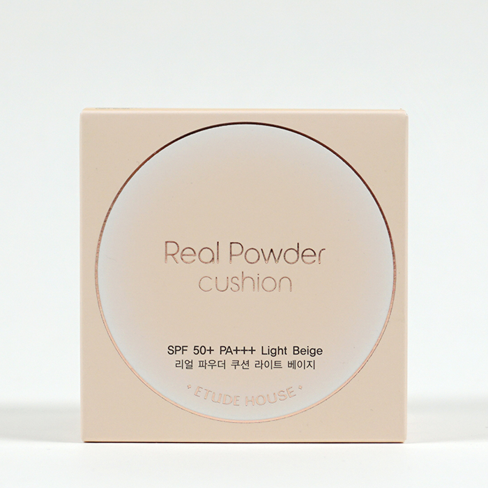 ETUDE HOUSE Real Powder Cushion review