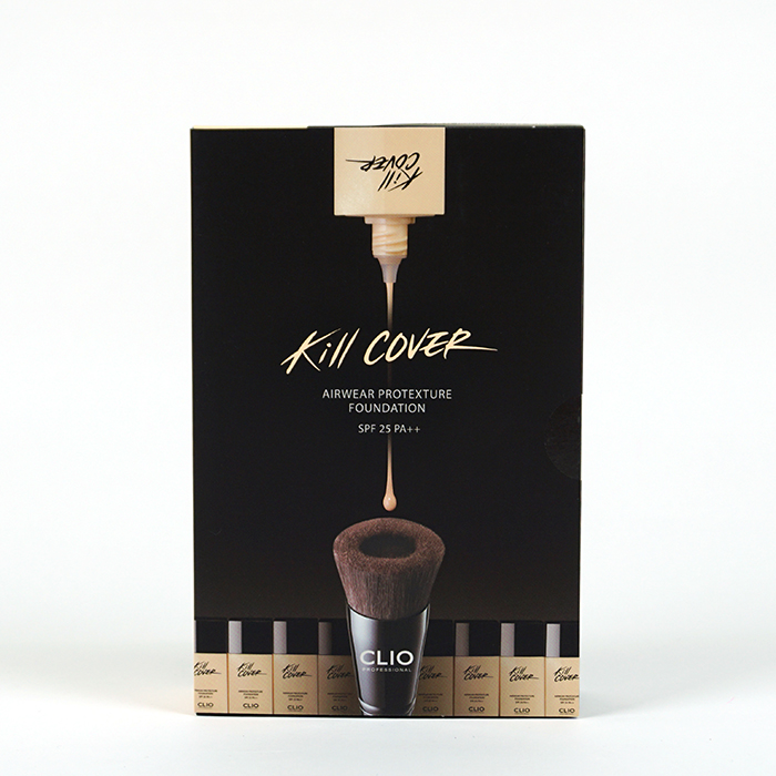 CLIO Kill Cover Airwear Protexture Foundation review