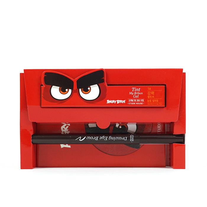 ETUDE HOUSE Angry Birds Brow Quick Makeup Set review