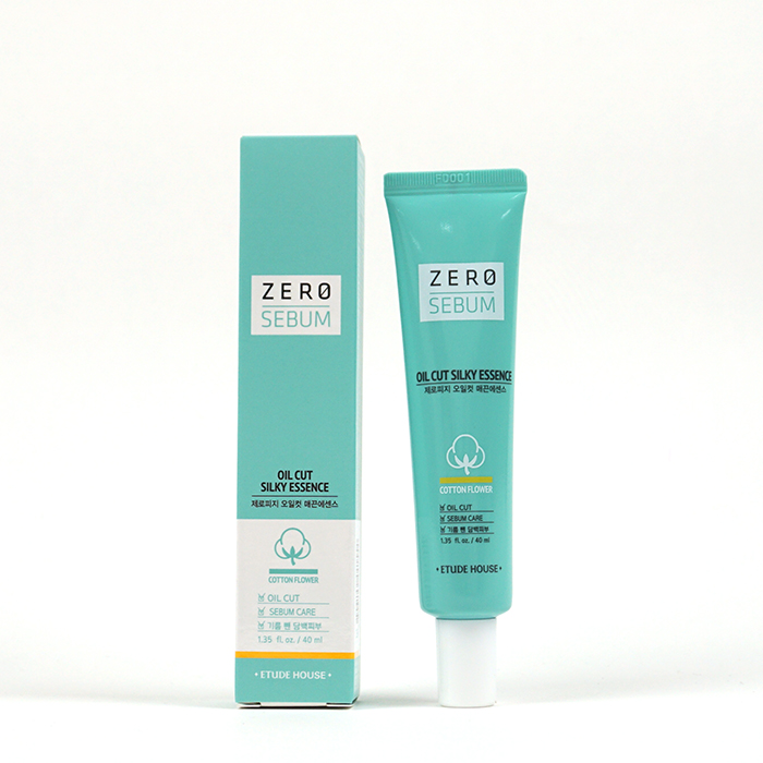 ETUDE HOUSE Zero Sebum Oil Cut Silky Essence review
