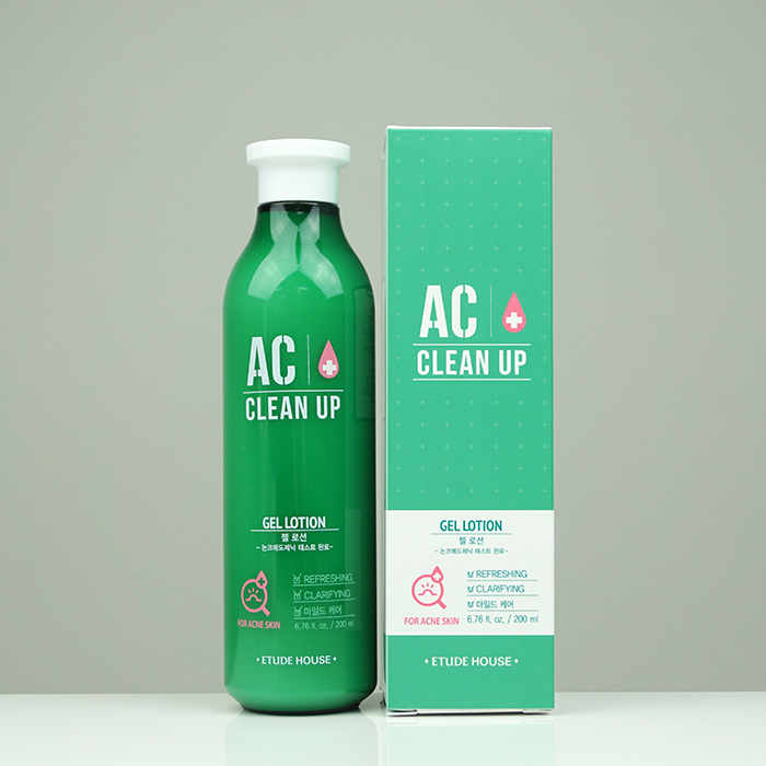 ETUDE HOUSE AC Clean Up Gel Lotion review