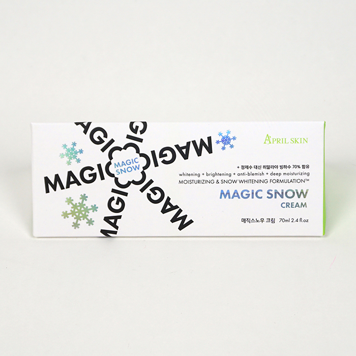 APRIL SKIN Magic Snow Cream review