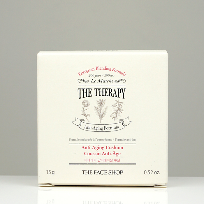 The Face Shop The Therapy Anti-Aging Cushion review