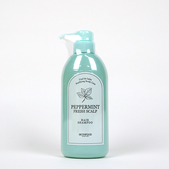 SKINFOOD Peppermint Fresh Scalp Shampoo Review