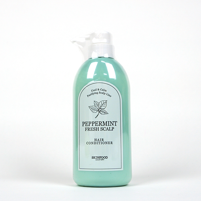 SKINFOOD Peppermint Fresh Scalp Conditioner review