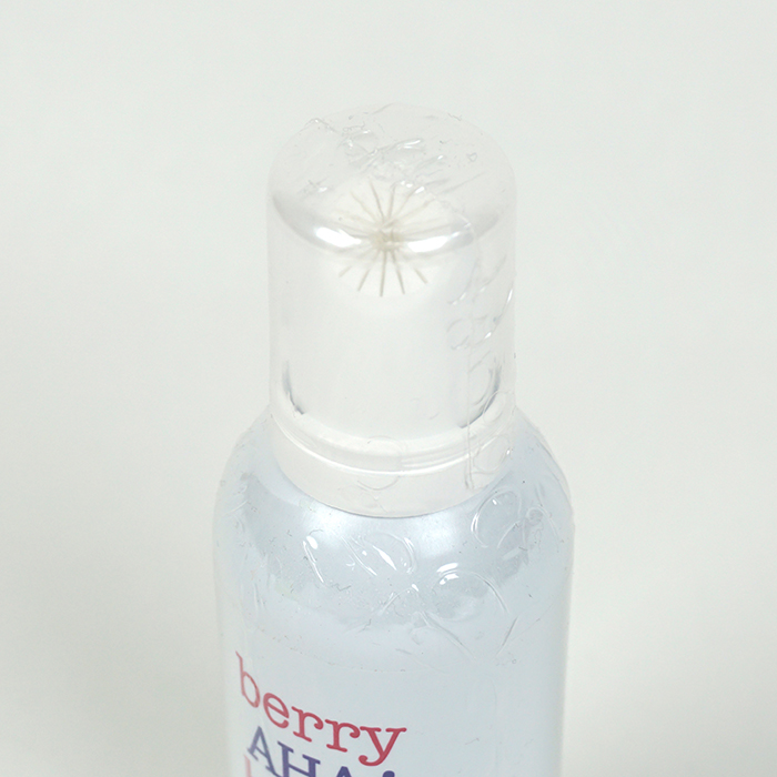 ETUDE HOUSE Berry AHA Bright Peel Bubble Wash review