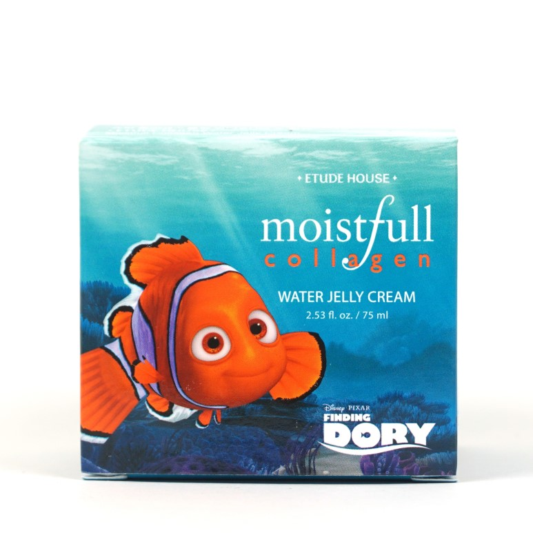 ETUDE HOUSE Moistfull Collagen Water Jelly Cream Finding Dory review
