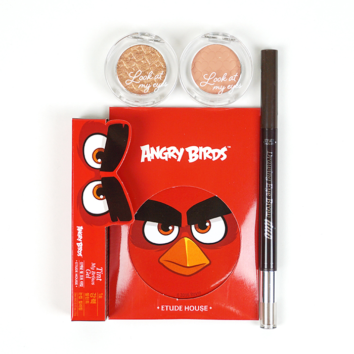 ETUDE HOUSE Angry Birds Eye Makeup Set review