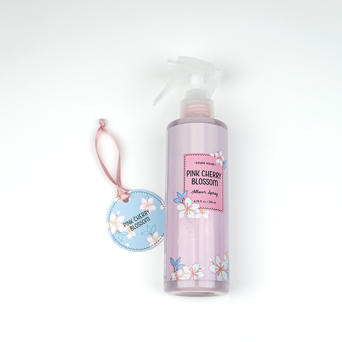 ETUDE HOUSE Pink Cherry Blossom Allover Spray review