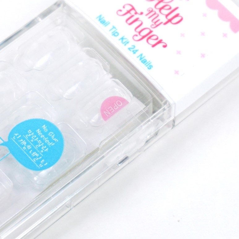 ETUDE HOUSE Help My Finger Nail Tip Kit review