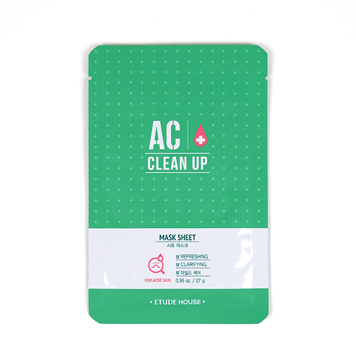 ETUDE HOUSE AC Clean Up Mask Sheet review