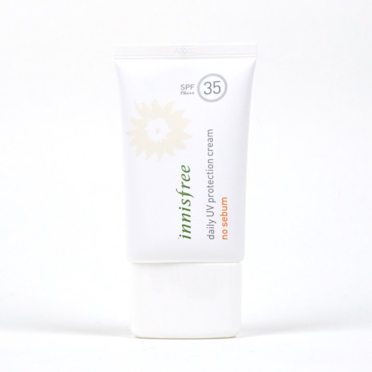 Innisfree Daily UV Protection Cream No Sebum review