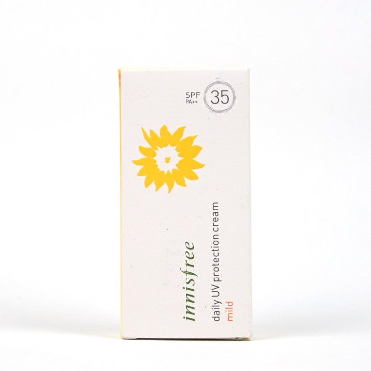 Innisfree Daily UV Protection Cream Mild review