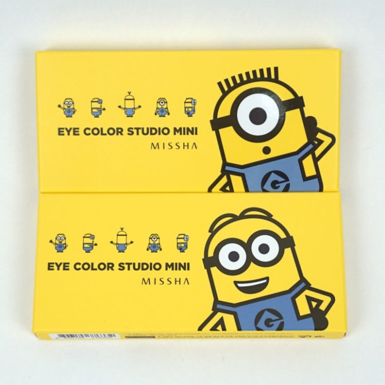 MISSHA Minions Edition Eye Color Studio Mini review