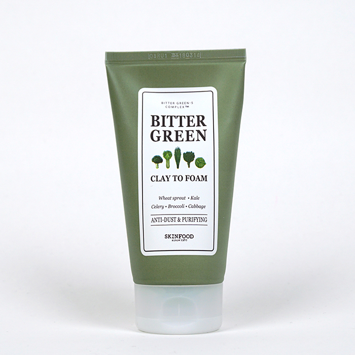 SKINFOOD Bitter Green Clay To Foam review