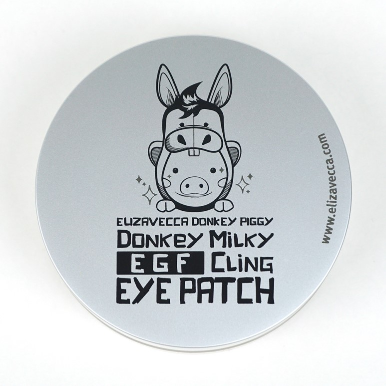 Elizavecca Donkey Piggy Donkey Milky EGF Cling Eye Patch review