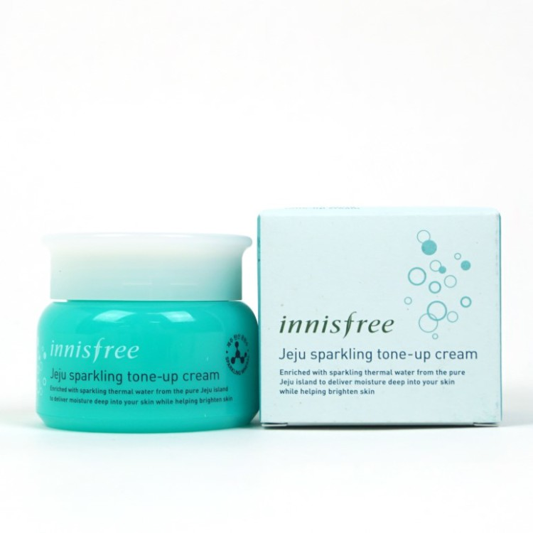 Innisfree Jeju Sparkling Tone-Up Cream review