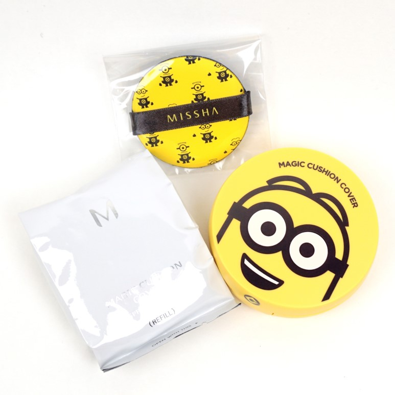 MISSHA Magic Cushion Cover Minions Edition review