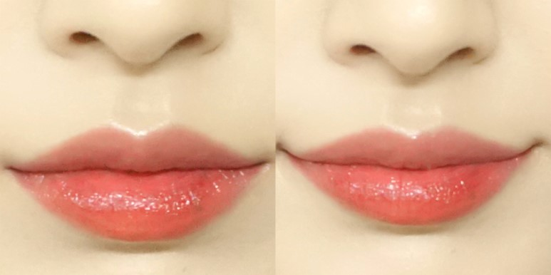 ETUDE HOUSE Wedding Peach Color in Liquid Lips Juicy review