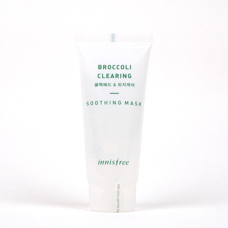 INNISFREE Broccoli Clearing Soothing Mask review