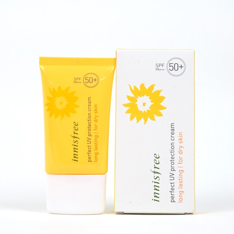 INNISFREE Perfect UV Protection Cream Long Lasting for Dry Skin review