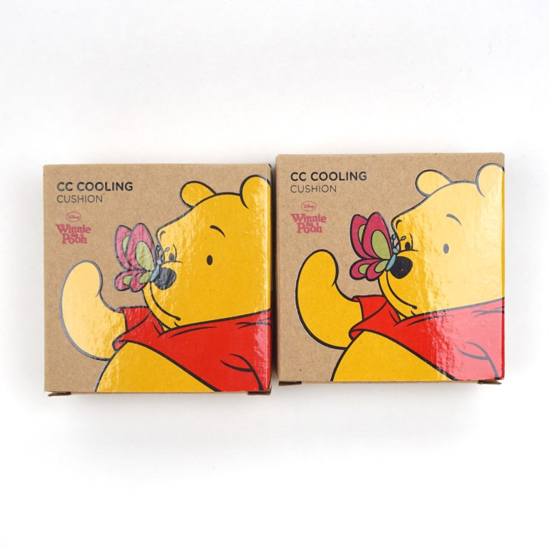 511487bdb7db THE FACE SHOP CC Cooling Cushion Winnie the Pooh Edition review