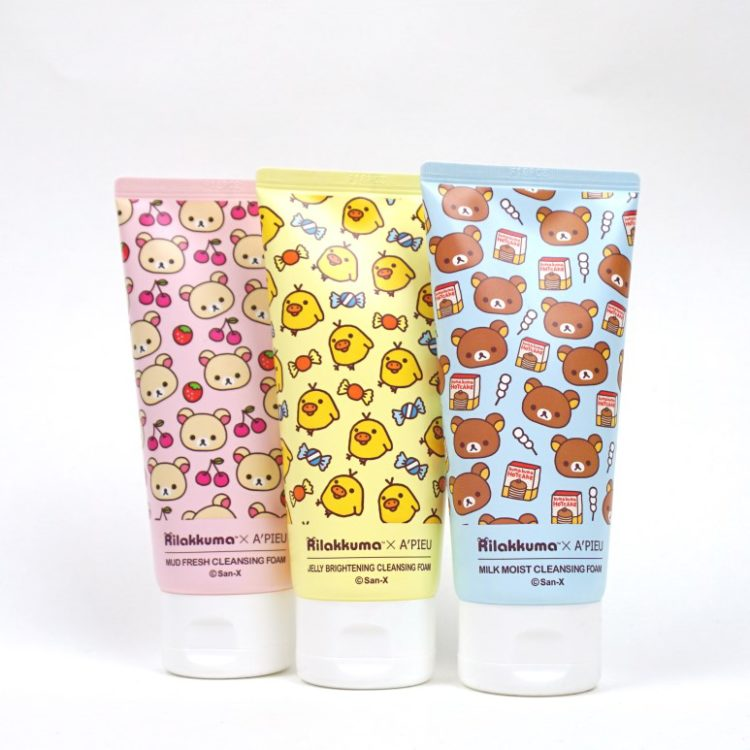 A'PIEU Rilakkuma Cleansing Foam review