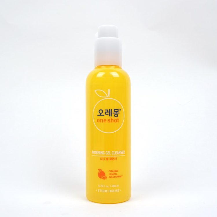 ETUDE HOUSE Oremong One Shot Morning Gel Cleanser review
