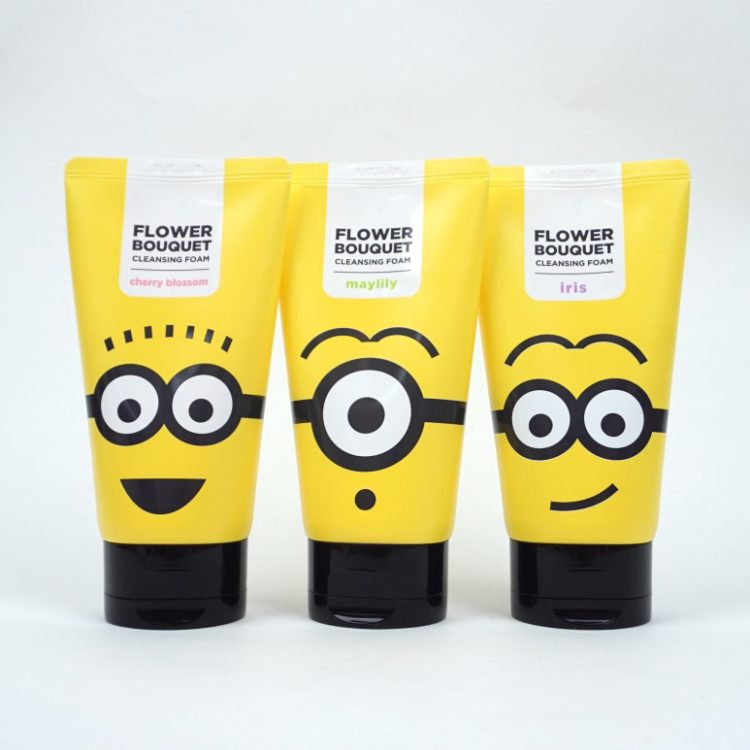 MISSHA Minions Flower Bouquet Cleansing Foam review
