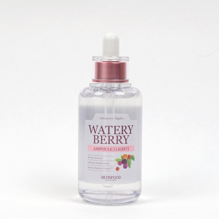 SKINFOOD Water Berry Ampoule Light review