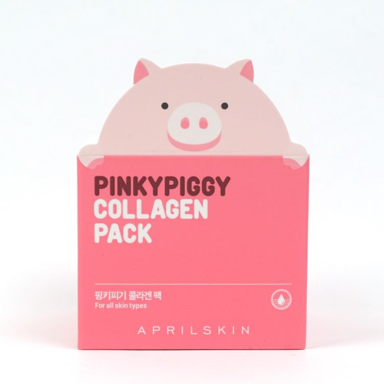 APRIL SKIN Pinky Piggy Collagen Pack review