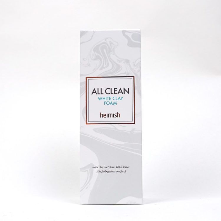 HEIMISH All Clean White Clay Foam review