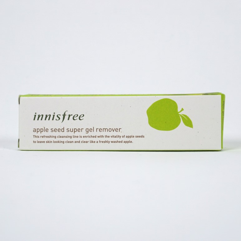 INNISFREE Apple Seed Super Gel Remover review