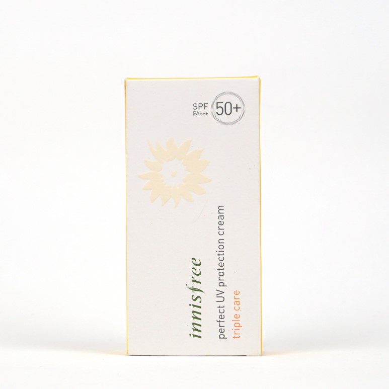 INNISFREE Perfect UV Protction Cream Triple Care review